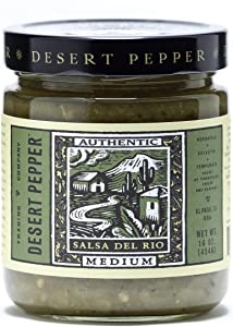 Desert Pepper Salsa Del Rio, Medium, 16-Ounce (6 Pack)
