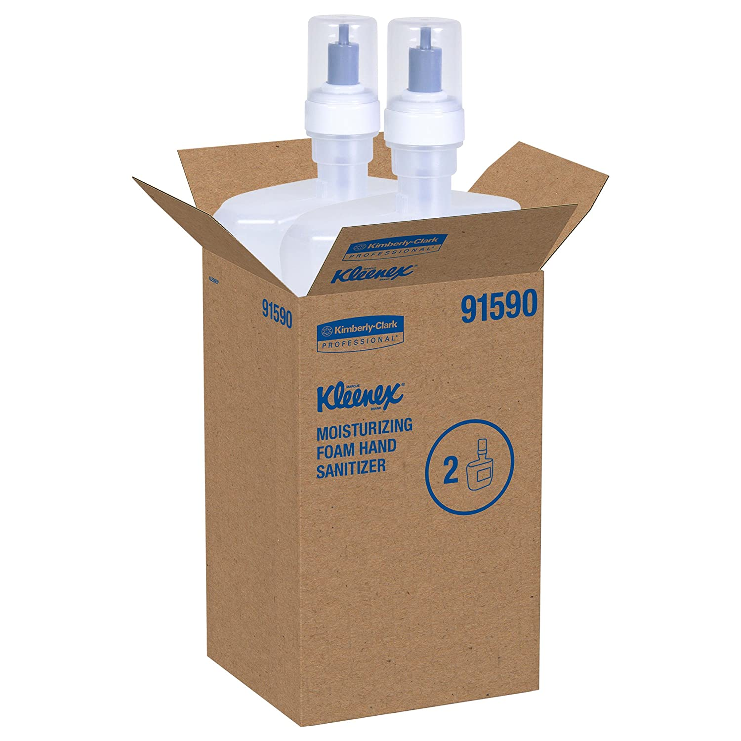 Amazon Com Kleenex Moisturizing Foam Hand Sanitizer 91590