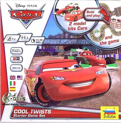 Amazon Com Zvezda Models Disney Cars Starter Board Game System