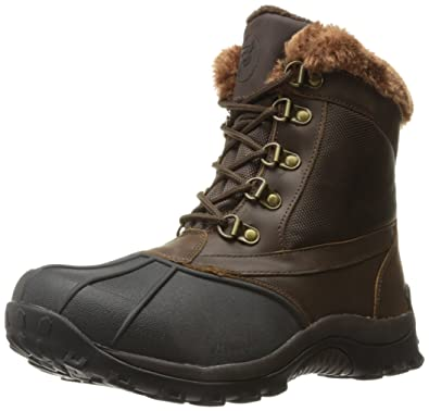 Propét Propet Women's Blizzard Mid Lace II Winter Boot, Brown/Nylon, ...