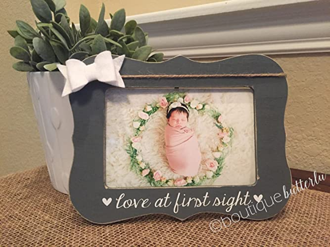 Amazon Baby Gender Reveal Gift Ultrasound Picture Frame New