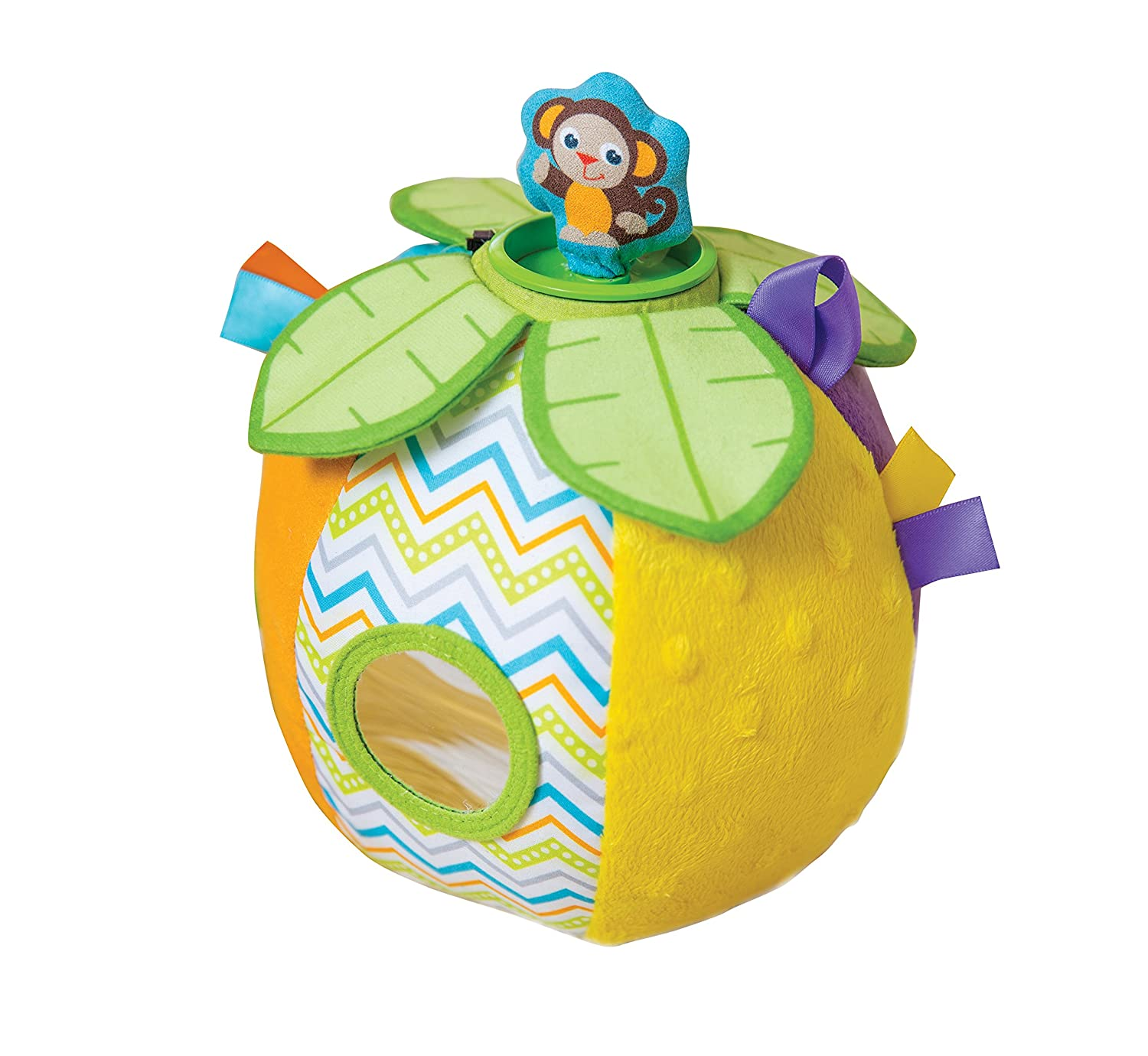 Kiddopotamus Have It All Ball Plush Peek-A-Boo Toy