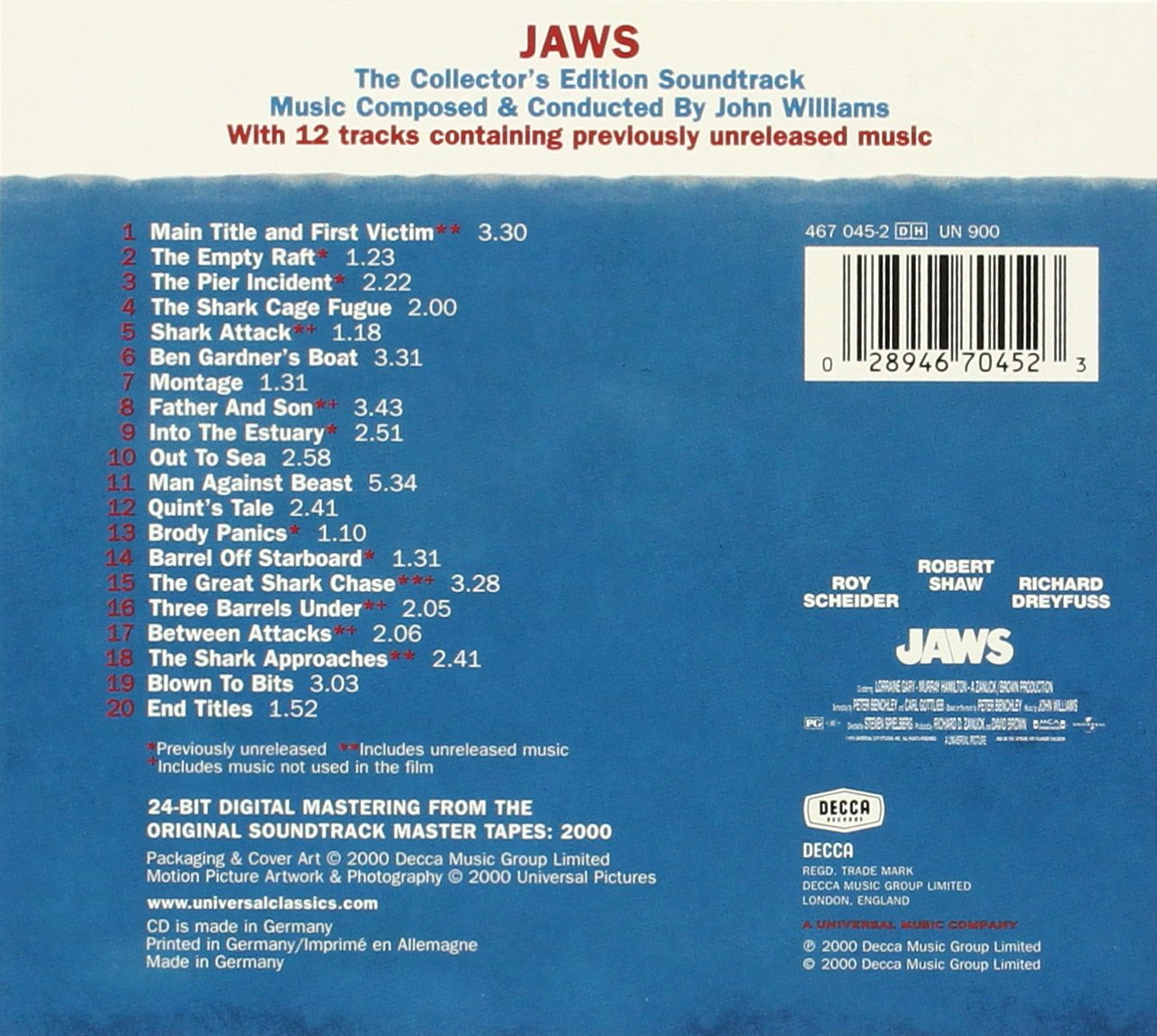 Jaws by Decca