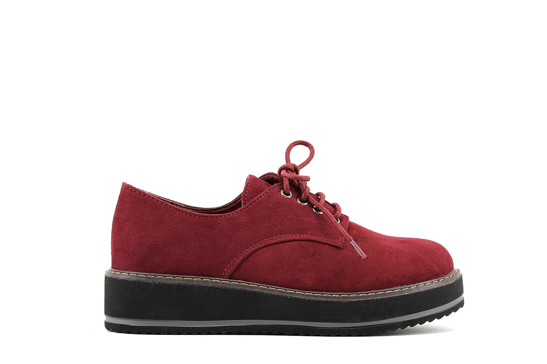 MODELISA 11313 , ville Chaussures de ville à lacets Chaussures pour femme Bordeaux 646004e - piero.space