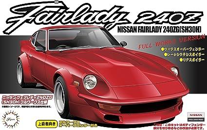 1/24 Nissan Fairlady 240G (S30) Full-Works Ver  (Model Car) by Fujimi Model