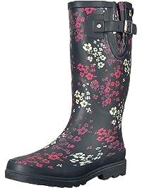 Western Chief Women s Waterproof Printed Tall Rain Boot a3b4a3c8bde4