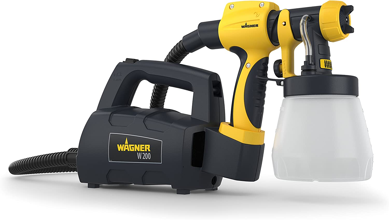 Wagner 2361511 Fin de selección-Pistolas de Aire Caliente-Herramientas eléctricas, 460 W, 220 V, Gris y amarillo, Norme