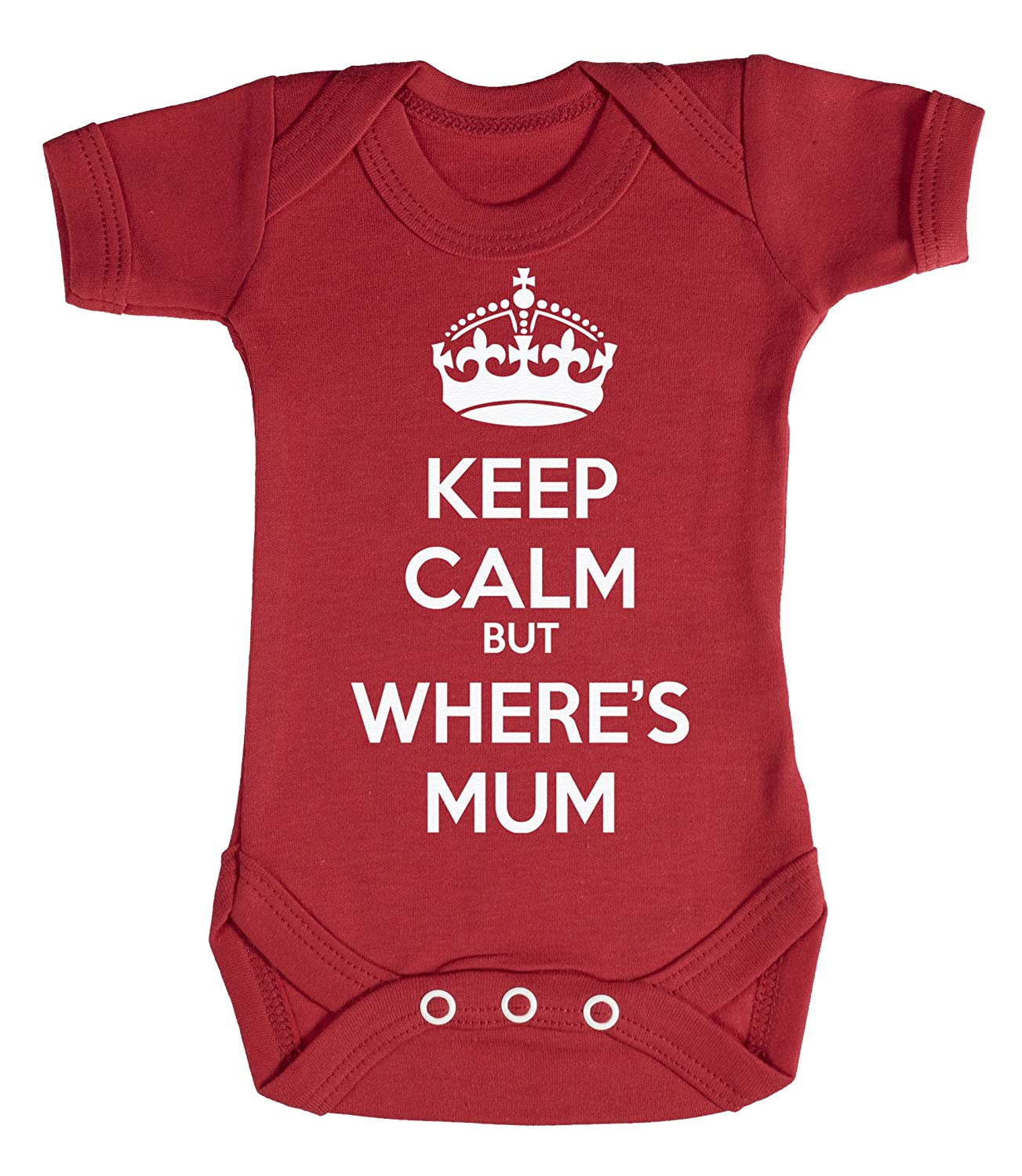 Baby Buddha - Keep Calm But Wheres Mum Body bébé 100% Coton PBB673