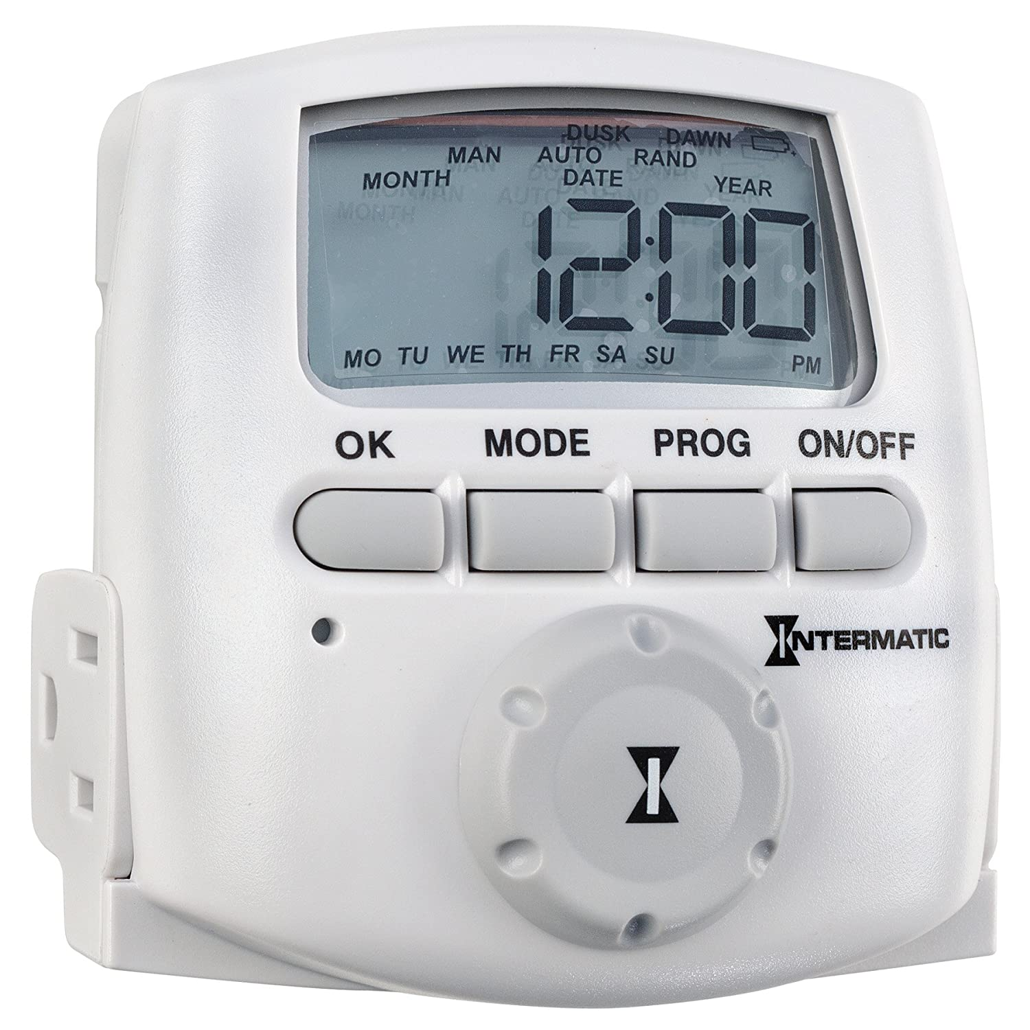 Intermatic DT620CL 15 Amp Indoor Astronomic Digital Timer - Plug In ...