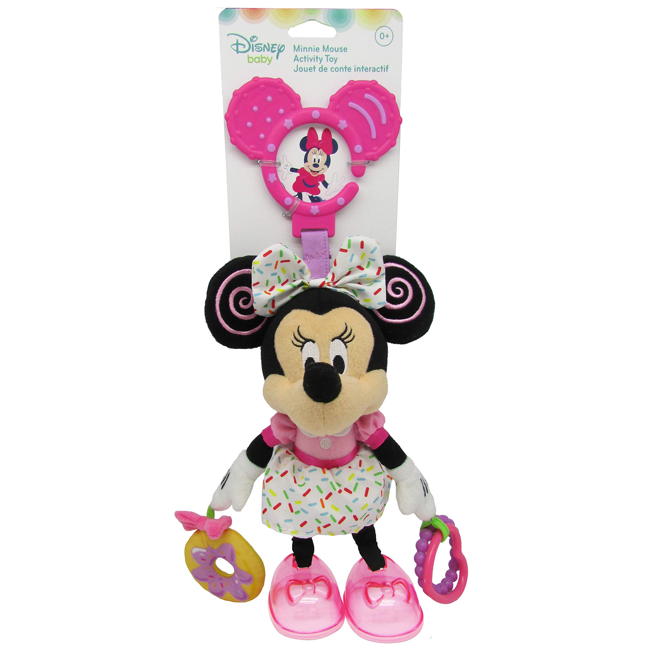 Disney Baby Minnie Mouse On the Go Teether Activity Toy, 14""