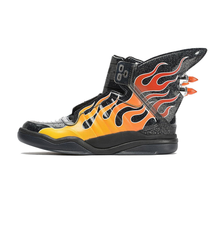 Adidas Originals Jeremy Scott Black Wings Shark Flame Shoes