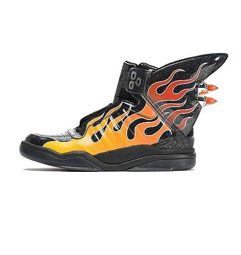 323cc653d541 adidas Originals Men s Js Shark Flame Black Sneakers - 12 UK  Buy Online at  Low Prices in India - Amazon.in
