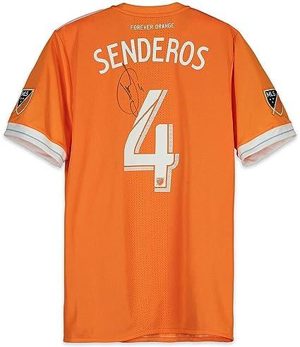 buy online 51841 21545 Philippe Senderos Houston Dynamo Autographed Match-Used ...