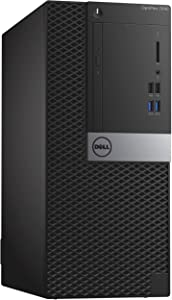 Dell OptiPlex 7040 Mini Tower PC, Intel Quad Core i7 6700-3.2 GHz,16GB DDR3L RAM, 256GB SSD, WiFi, Windows 10 Pro(Renewed)
