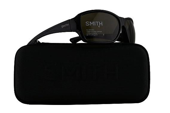 32816c7cfb Smith Purist Sunglasses Black w Polarized Grey Green 59mm Lens D28 Purist S   Amazon.co.uk  Clothing