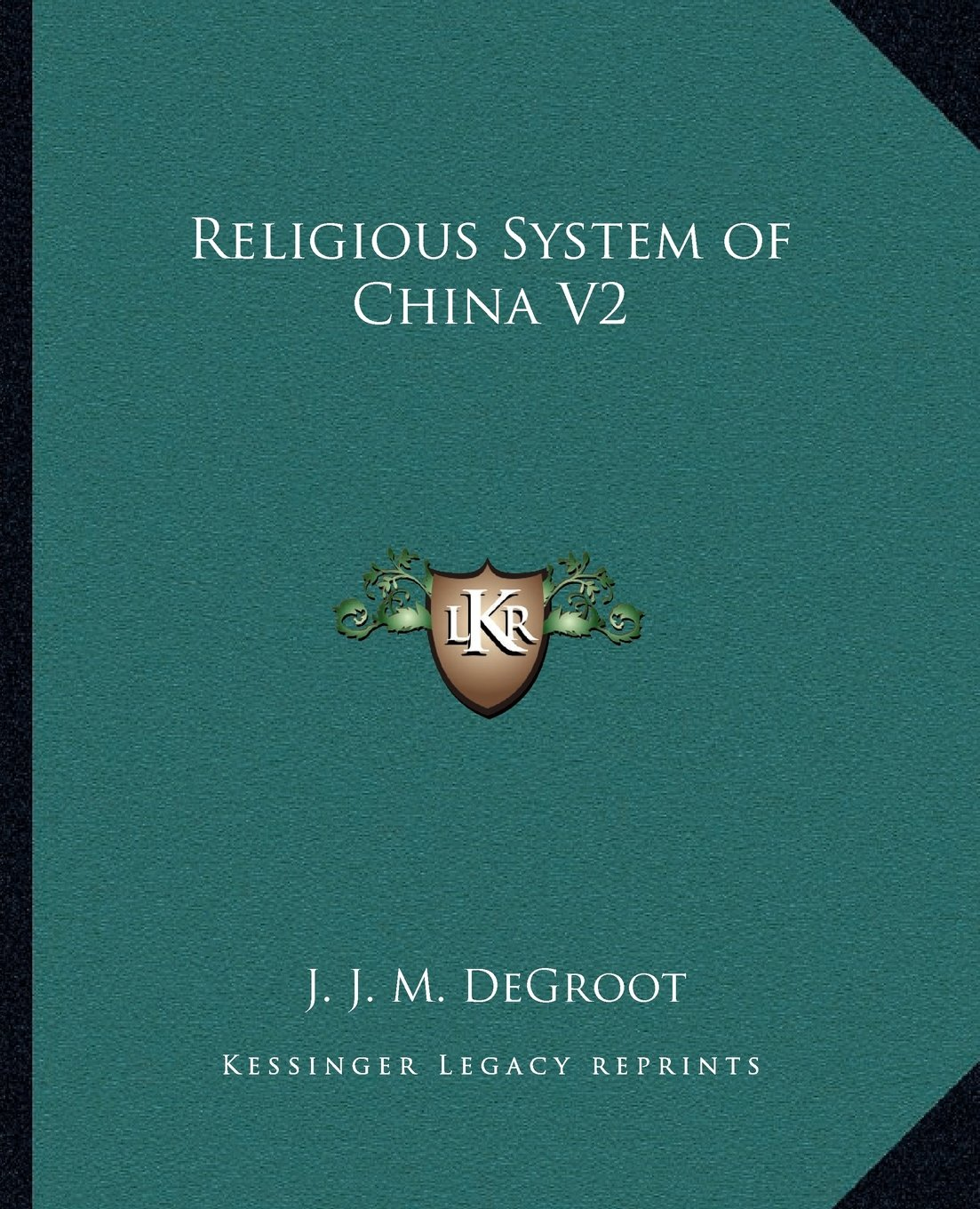 Download Religious System of China V2 PDF