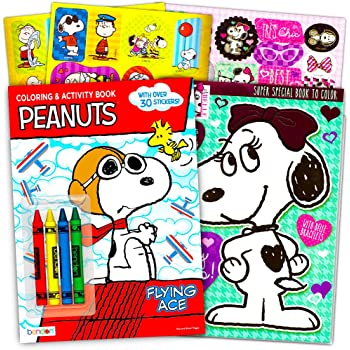 Amazon.com: Peanuts ''Flying Ace'' Coloring and Activity