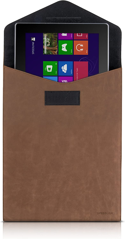 edles Vintage-Design, sch/ützt vor Kratzern weiches, Innenfutter braun Surface 2 //Surface Pro 2// RT Speedlink Couver Tablet-Tasche f/ür Surface 3