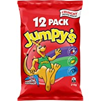 Jumpy's Jumpy's Chips Variety Multipack Assortment, 1 x 216g