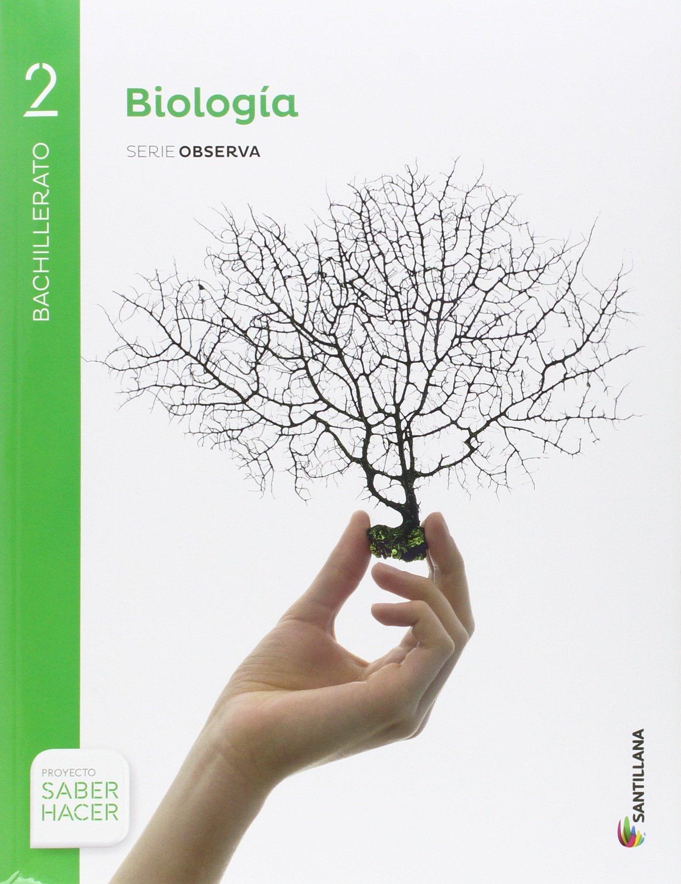 BIOLOGÍA SERIE OBSERVA 2 BTO SABER HACER - 9788414101933: Amazon.es: Aa.Vv.: Libros