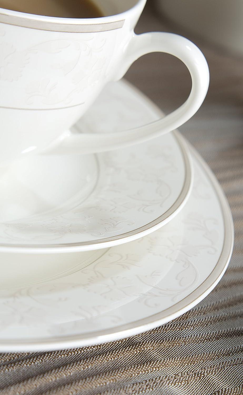 31 x 28 x 33 cm wei/ß mit ornamenten Ritzenhoff /& Breker 082586 Vaisselle Porcelaine Fine