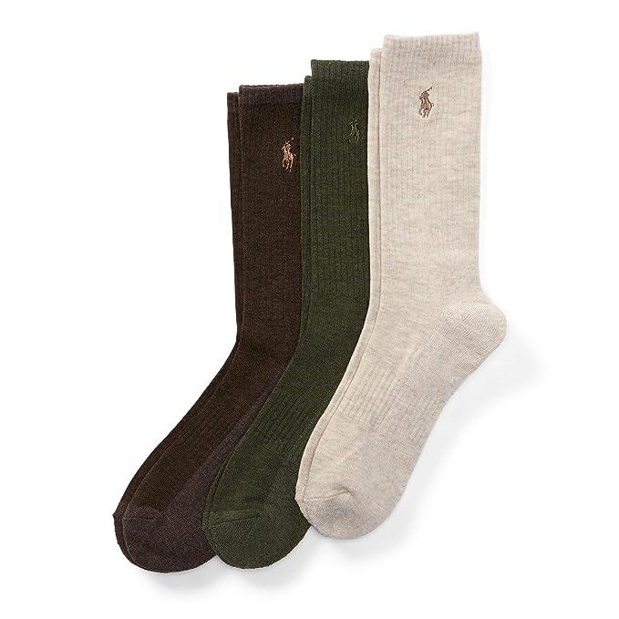 Ralph Lauren - Supersoft Paquete de 3 pares de calcetines - Talla única para 40 a