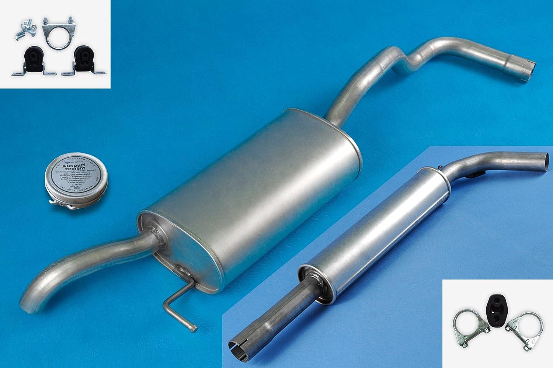 SEAT CORDOBA 6K 6C 1.4 1.6 1.8 2.0 Full exhaust system + mounting kit POLMO