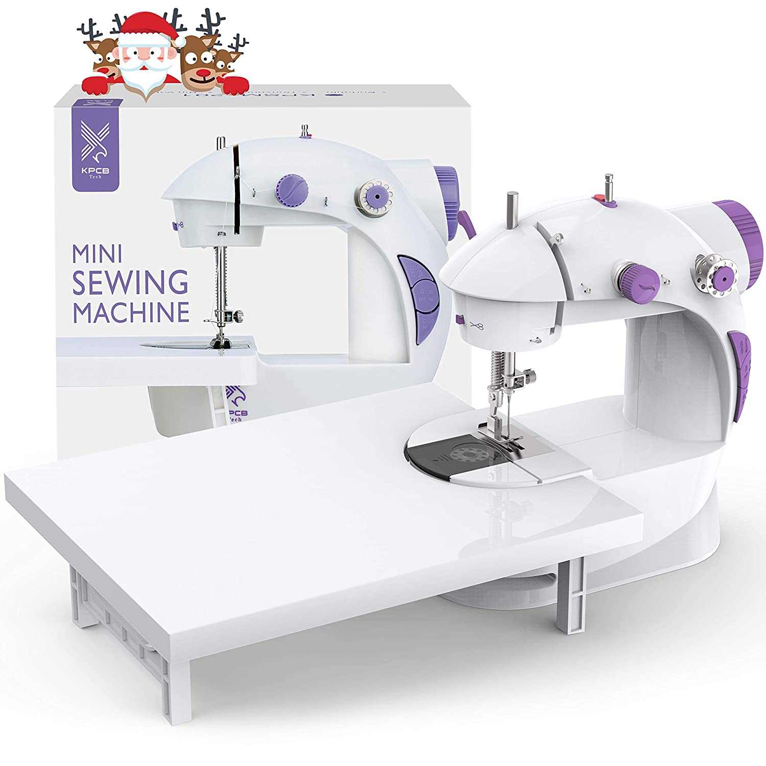 KPCB 201 Mini Sewing Machine with Extension Table ...