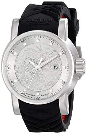 c43223dc48c Image Unavailable. Image not available for. Color  Invicta Men s 15862 S1  Rally Analog Display Japanese Automatic Black Watch