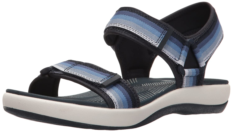 9888636ab667 Clarks Women s Brizo Ravena Flat Sandal  Amazon.com.au  Fashion