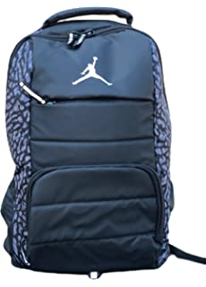 fcfd28bf18f9 Amazon.com  NIKE Air Jordan All World Gym Jumpman Backpack School ...