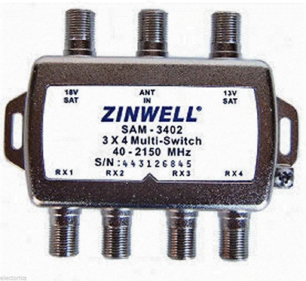 Zinwell 3 x 4 Multi-Switch