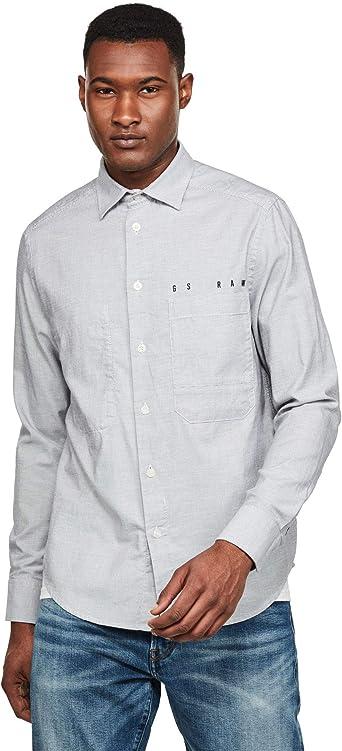 G-STAR RAW Dowl Straight Camisa para Hombre: Amazon.es: Ropa y accesorios