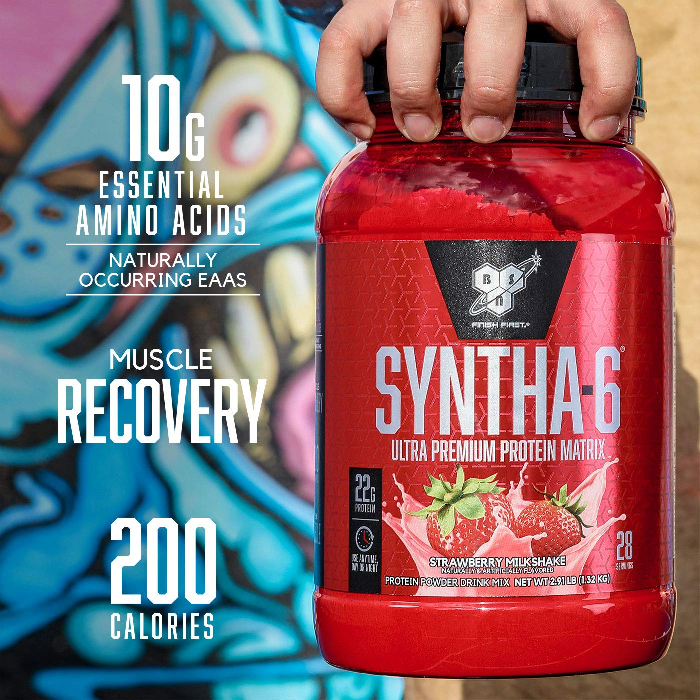 Bsn Syntha 6 Whey Protein Powder Cold Stone Creamery Birthday Cake
