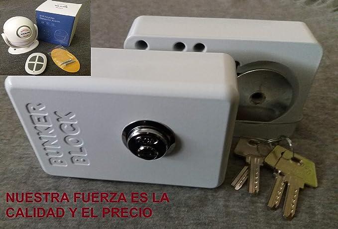 2 Cerraduras mensajerias + Alarma Puertas Furgonetas (MODELO AUTOMATICO A20) Made in Spain: Amazon.es: Bricolaje y herramientas