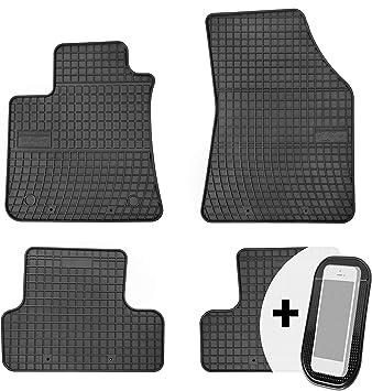 Gummimatten Auto Fußmatten Gummi Automatten Passgenau 4 Teilig Set Passend Für Renault Megane 4 Ab 2016 Auto