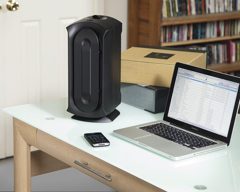 amazoncom hamilton beach trueair ultra quiet air cleaner purifier with permanent hepa filter 04386a home u0026 kitchen