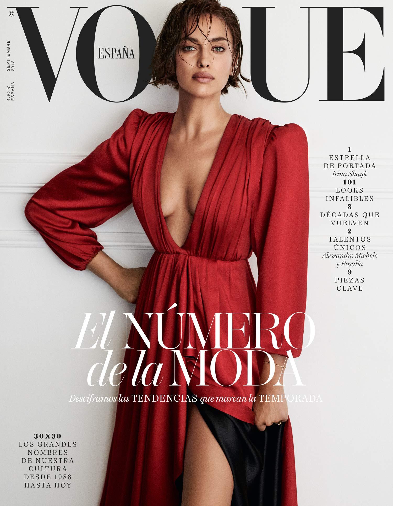 Vogue España. Septiembre 2018 - Número 366: Amazon.es: Vv.Aa, Vv ...
