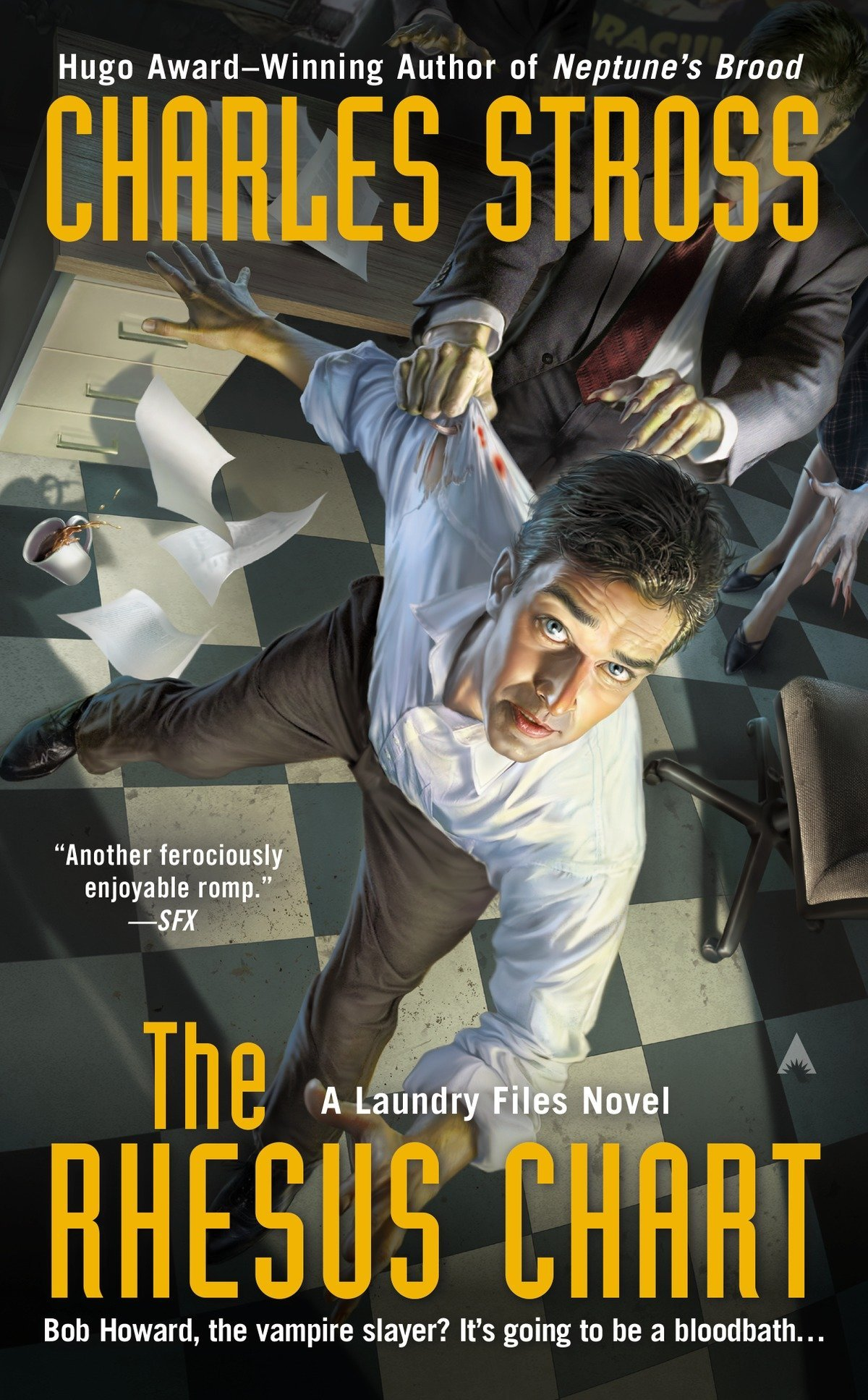 The Rhesus Chart (A Laundry Files Novel, Band 5)