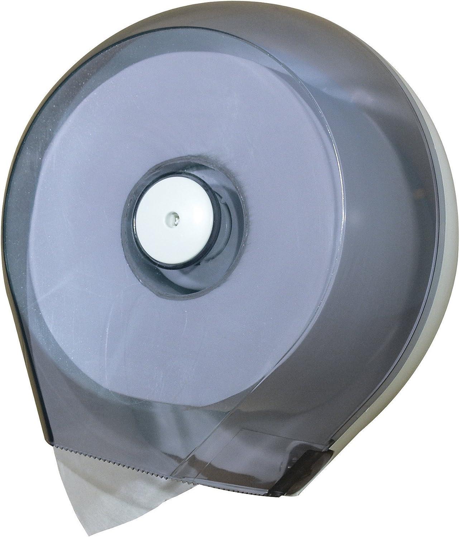 Dispenser Carta Igienica Mini Jumbo in Plastica Trasparente