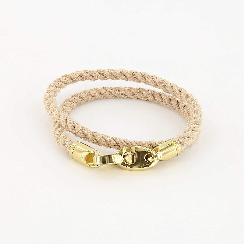 Endeavour Double Wrap Rope Bracelet