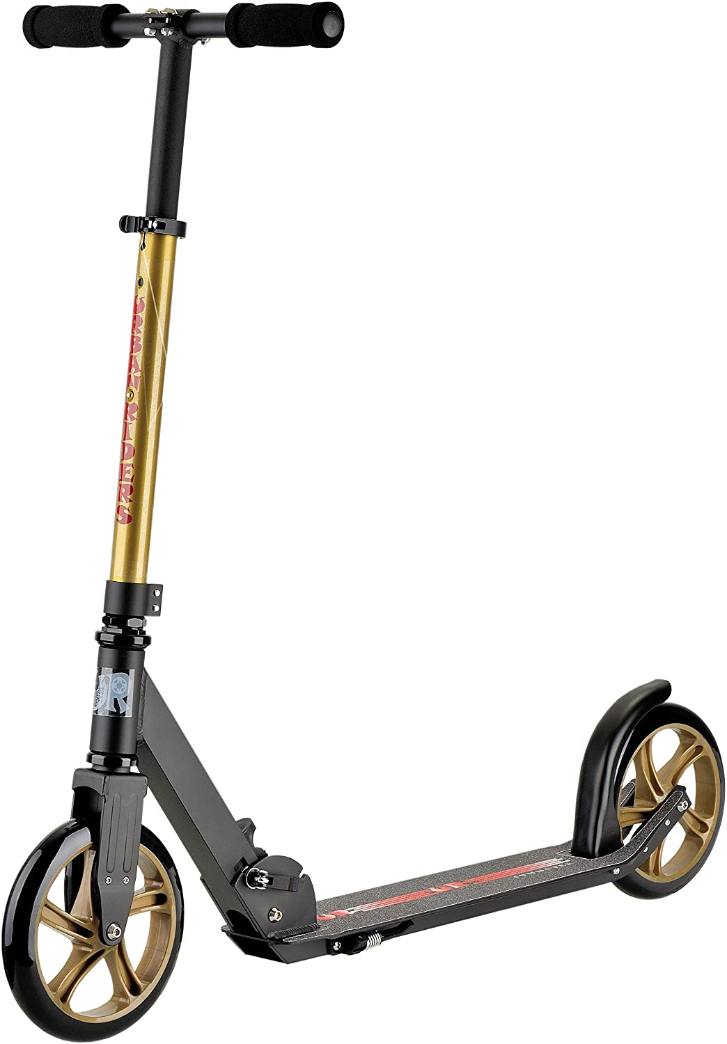 Commuter Special (Gold) Adult Kick Scooter | Telescope Handlebar | Adult Size Scooter | URBAN RIDERS USA