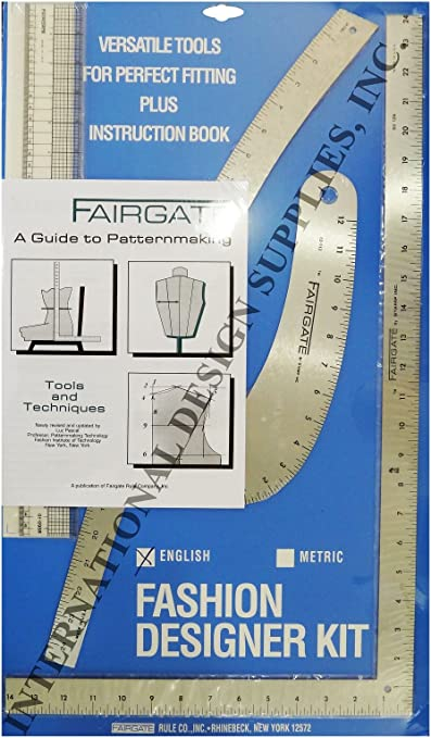 Amazon Com Fairgate Fashion Designer Rule Kit In Inch 15 102 Office Products Office Products