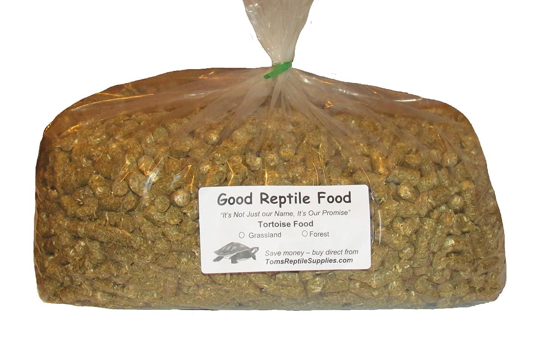 Good Reptile Food Grassland Tortoise Food Bulk 7 Lbs.