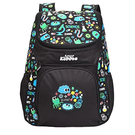 cdde0191117 Smily Kiddos Wacky Access Backpack (Black)  Amazon.in  Bags, Wallets    Luggage