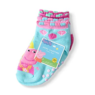 Queen Peppa Quarter Socks -Baby-Toddler- Girl 5-pack (18-