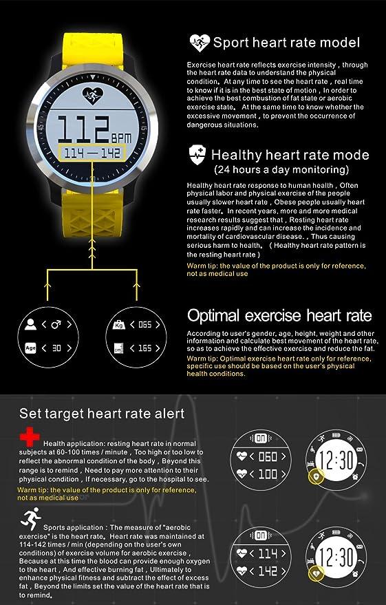 Makibes F69 IP68 impermeable Smartwatch Reloj de pulsera ...