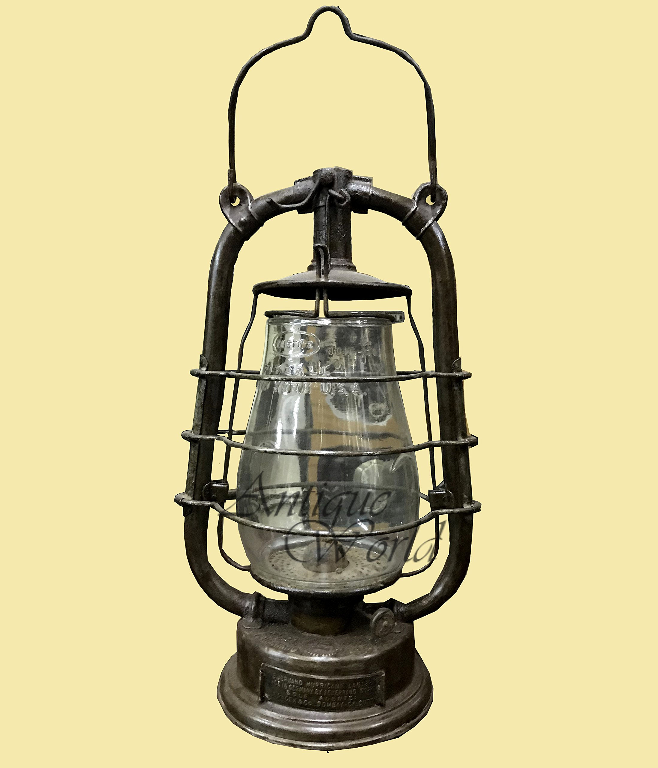 Antiques World Feuerhand Hurricane Vintage Lamps & Lantern Made In Germany In Antique Collectibles, Lamps, Lighting, Lamps And Non Electric Oil Lamps AWUSAHB 0167
