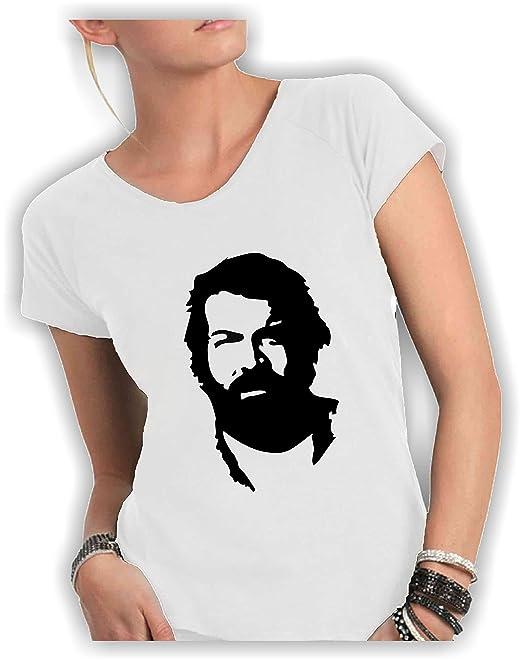 Social Crazy - Camiseta - para mujer Bianco Small