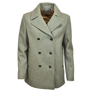 Manteau femme caban court